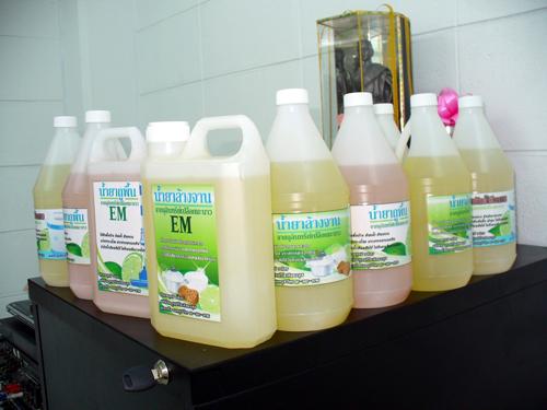 ผลิตภัณฑ์ น้ำยาล้างจาน น้ำยาถูพื้น น้ำยาซักผ้าชีวภาพ