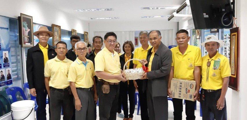 5 กรกฎาคม 2562ตอนรับคณะจากองค์การส่งเสริมกิจการโคนมแห่งประเทศไทย อ.หมวกเหล็กจ.สระบุรีศึกษาดูงานการบริหารการจัดการขยะในครัวเรือน... มุ่งสร้างจิตสำนึก.. วินัยการคัดแยกขยะการจัดการขยะต้นทาง... ที่ศูนย์รีไซเคิลขยะชุมชนพบสุข เทศบาลนครปากเกร็ด ...ประเทศไทยไร้ขย