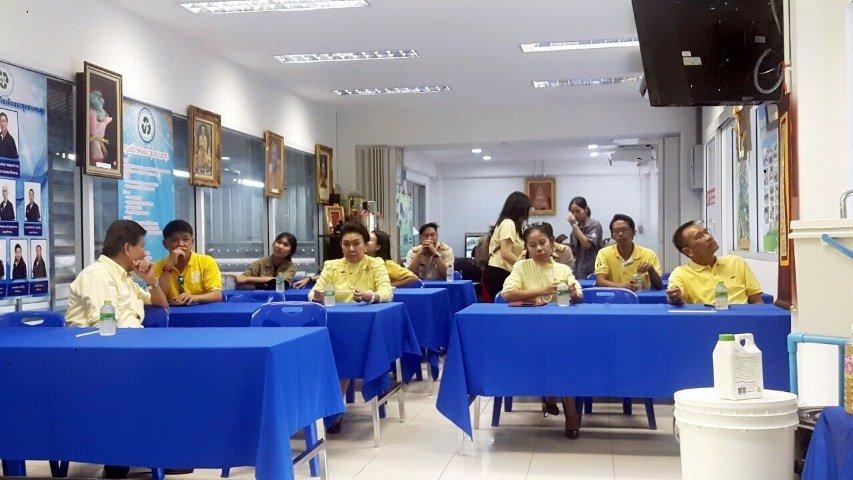 24 มิถุนายน 2562 ต้อนรับคณะประเมินโครงการเมืองอยู่ดีคนมีสุข สิ่งแวดล้อมยั่งยืน เทศบาลแห่งการเรียนรู้และการบริหารจัดการที่ดี ตรวจเยี่ยมพื้นที่