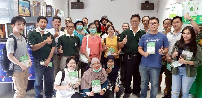 20กุมภาพันธ์ 2563ต้อนรับคณะเอ็มโร่เอเชีย ( Apnon International Workshop Saraburi Thailand) ศึกษาดูงานด้านสิ่งแวดล้อมโดยการนำจุลินทรีย์อีเอ็มมาใช้ ที่ศูนย์รีไซเคิลพบสุข เทศบาลนครปากเกร็ด