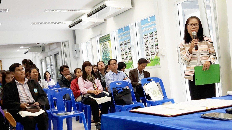 21 กันยายน 2559 ต้อนรับคณะศึกษาดูงาน จากสำนักงาน ทรัพยากรธรรมชาติและสิ่งแวดล้อมจังหวัดอุทัยธานี นำคณะผู้บริหารหน่วยงานต่างๆ จ.อุทัยธานี มาศึกษาดูงานเรื่องการบริหารงานในการคัดแยกขยะที่ต้นทาง และการจัดการขยะสด ศูนย์รีไซเคิลขยะชุมชนพบสุข เทศบาลนครปากเกร็ด