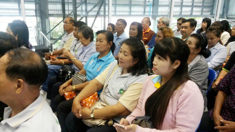 16 สิงหาคม 2559ต้อนรับคณะเทศบาลตำบล กกโก อำเภอเมือง จังหวัดลพบุรี ศึกษาดูงานเรื่องการมีส่วนร่วมของชุมชนในการคัดแยกขยะที่ต้นทาง การจัดการขยะสด ศูนย์รีไซเคิลขยะชุมชนพบสุข เทศบาลนครปากเกร็ด