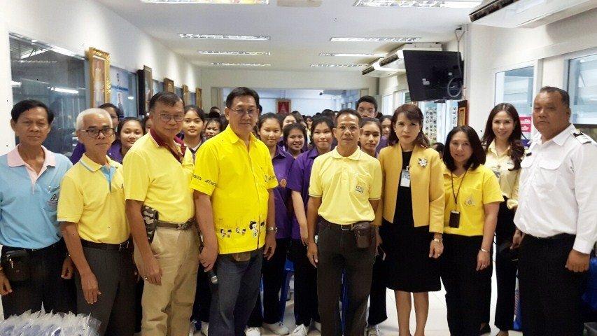 9 กรกฎาคม 2562ต้อนรับ คณะบริษัทท่าอากาศยานไทยจำกัด(มหาชน)ท่าอากาศยานดอนเมือง(ทดม) พาคณะนักเรียนระดับมัธยมตอนปลาย 3โรงเรียน เขตดอนเมือง กทม. ดูงานการบริหารการจัดการขยะในครัวเรือน... มุ่งสร้างจิตสำนึก.. วินัยการคัดแยกขยะการจัดการขยะต้นทาง... ที่ศูนย์รีไซเคิ