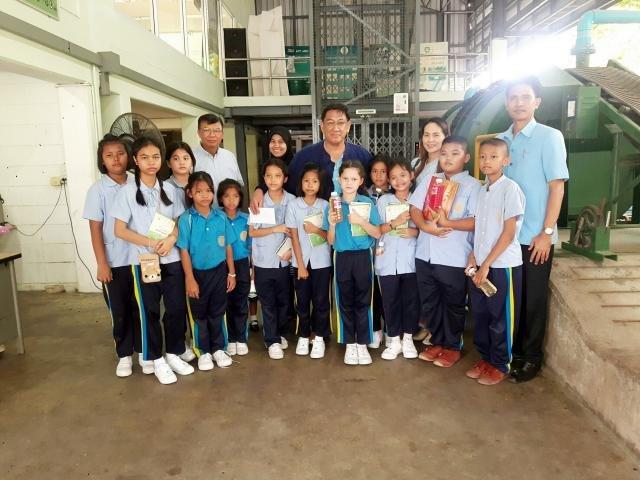 10 สิงหาคม 2561ต้อนรับคุณครูและนักเรียนโรงเรียนคลองเกลือ อ.ปากเกร็ด เขตพื้นที่การศึกษาประถมศึกษานนทบุรี เขต2